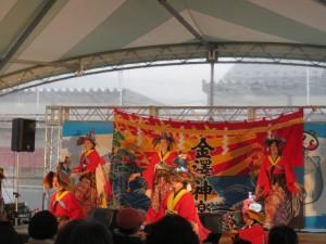 金澤神楽の舞