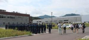 東日本大震災行方不明者集中捜索開始式