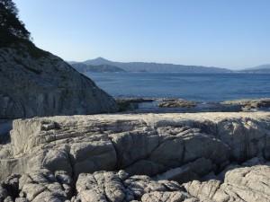 千畳敷からの鯨山