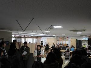 介護福祉士や看護士も配置されているサポートセンター(平田第6仮設団地)