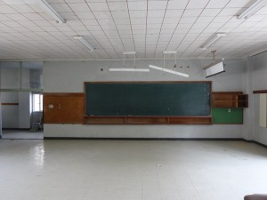 3年3組の教室